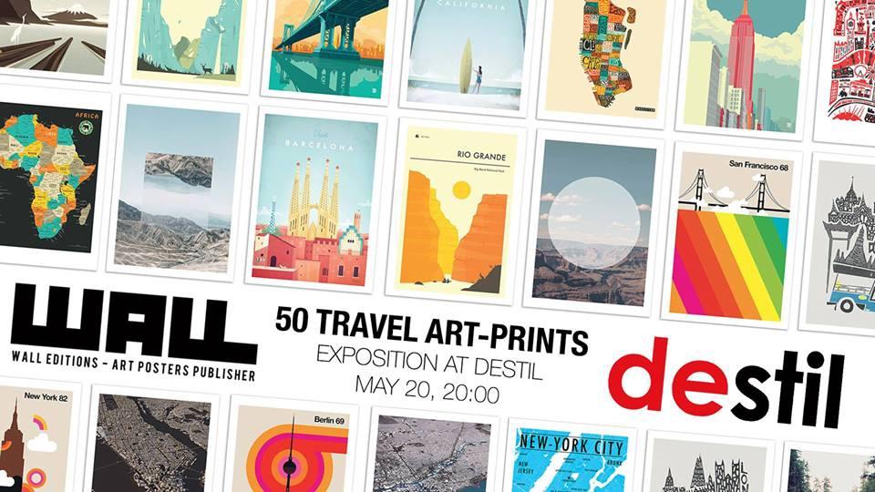 50 travel art prints by wall editions-calendar.Al