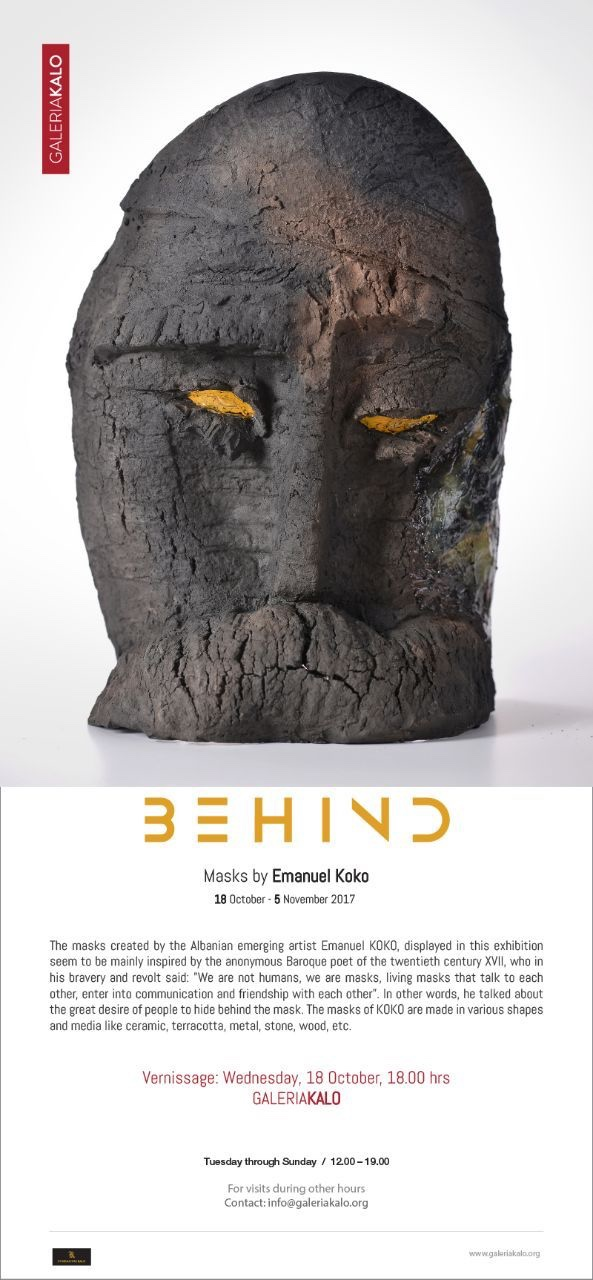 Behind Masks nga Emanuel Koko-calendar.Al